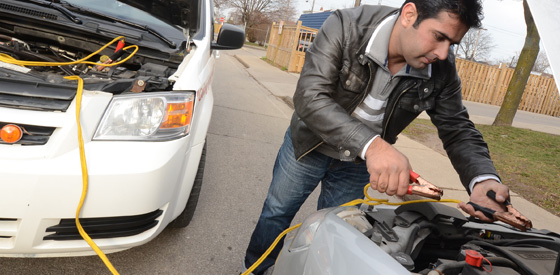 Battery Boost - Hamilton Cab