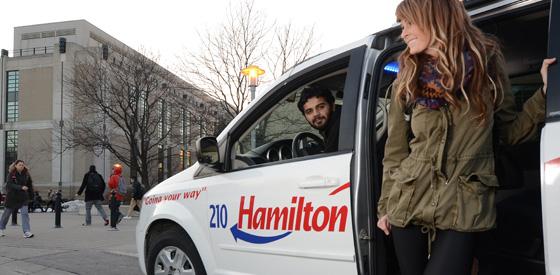Stories that Drive Us - Hamilton Cab