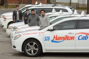 Hamilton Cab drivers