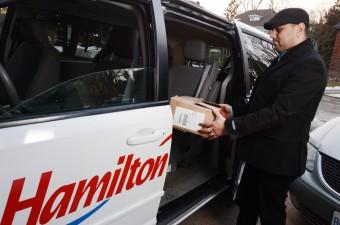 Courier Services - Hamilton Cab